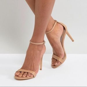 NWT Steve Madden Stecy Natural Heels Size 5M